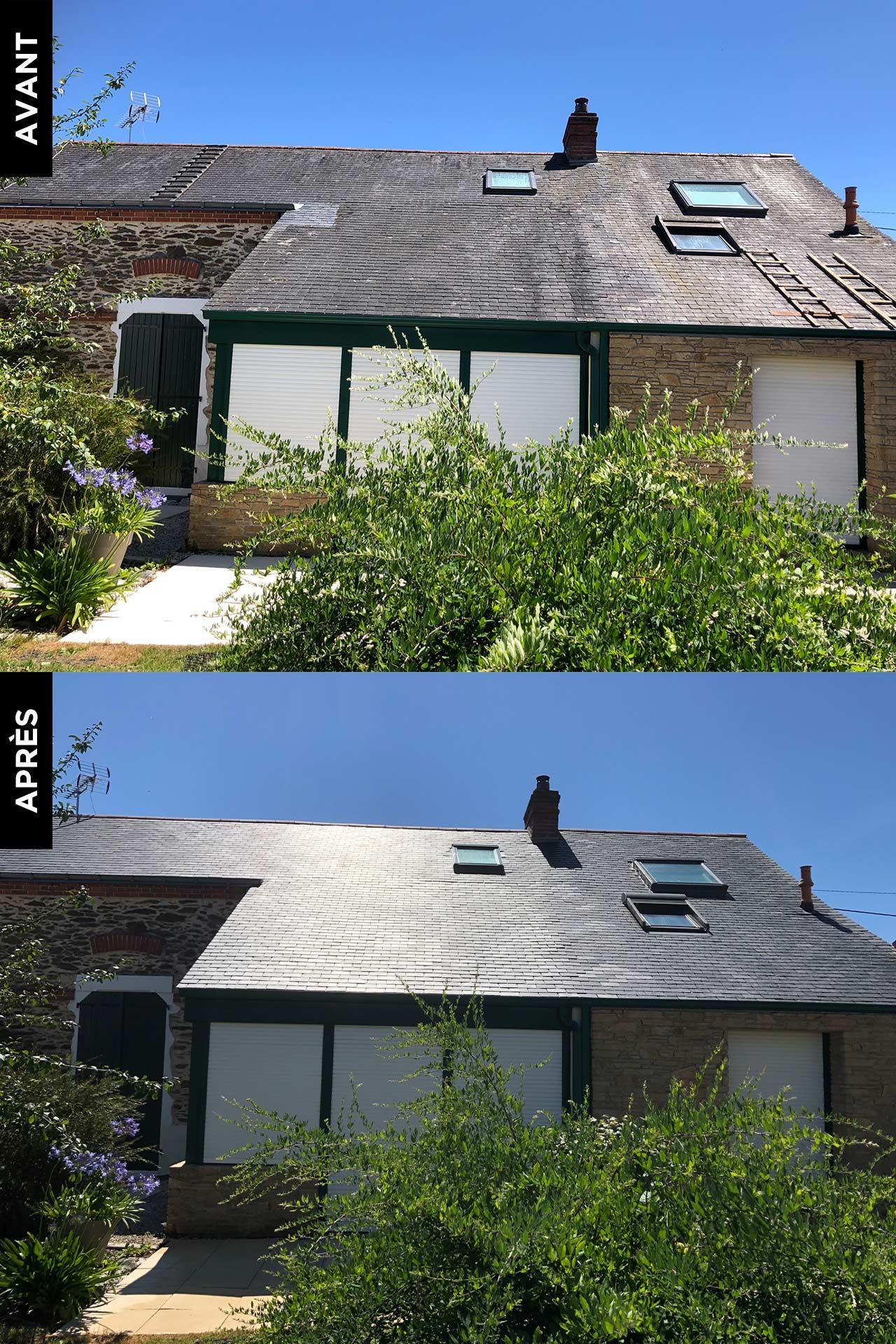 Traitement et protection toiture