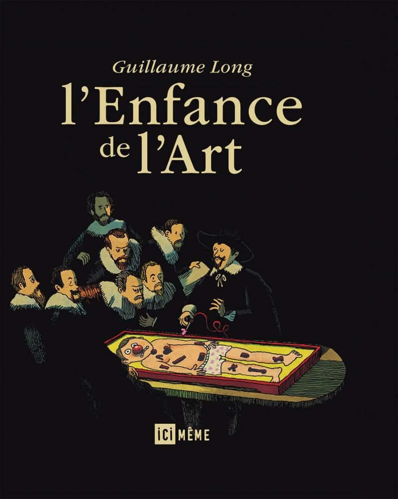 Guillaume Long, Ici Même, art, humour, bande dessinée