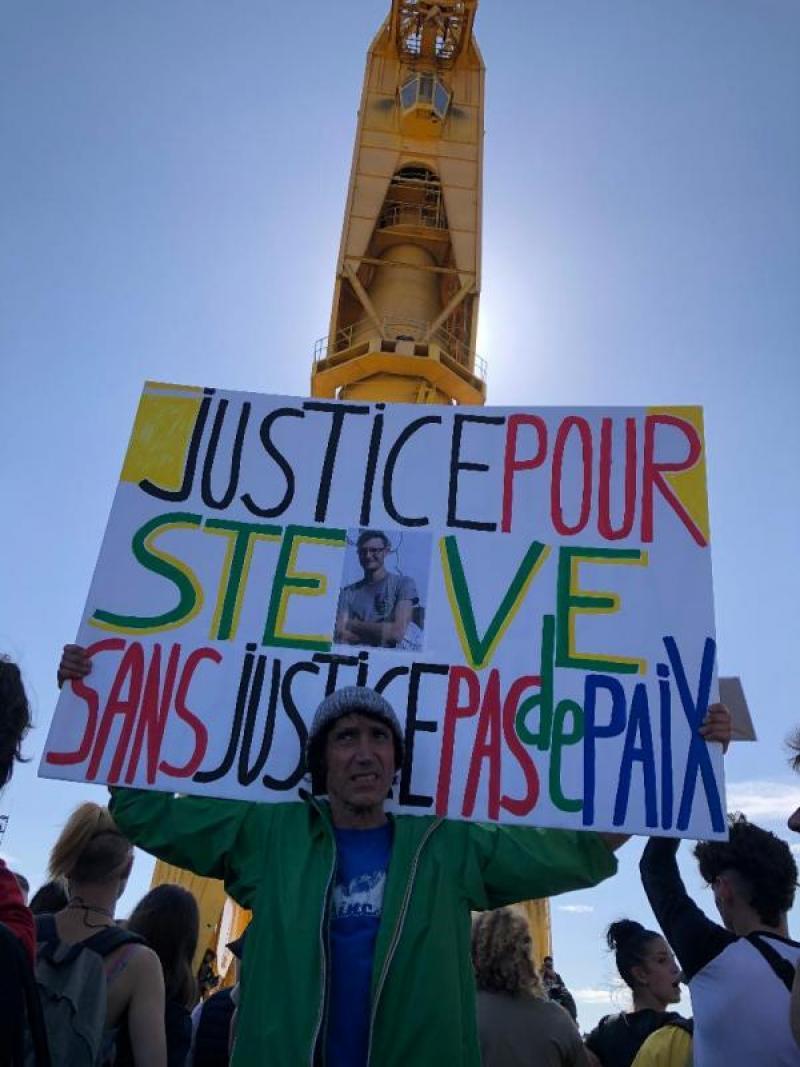 génération écologie 44, Nantes, Steve, marche blanche