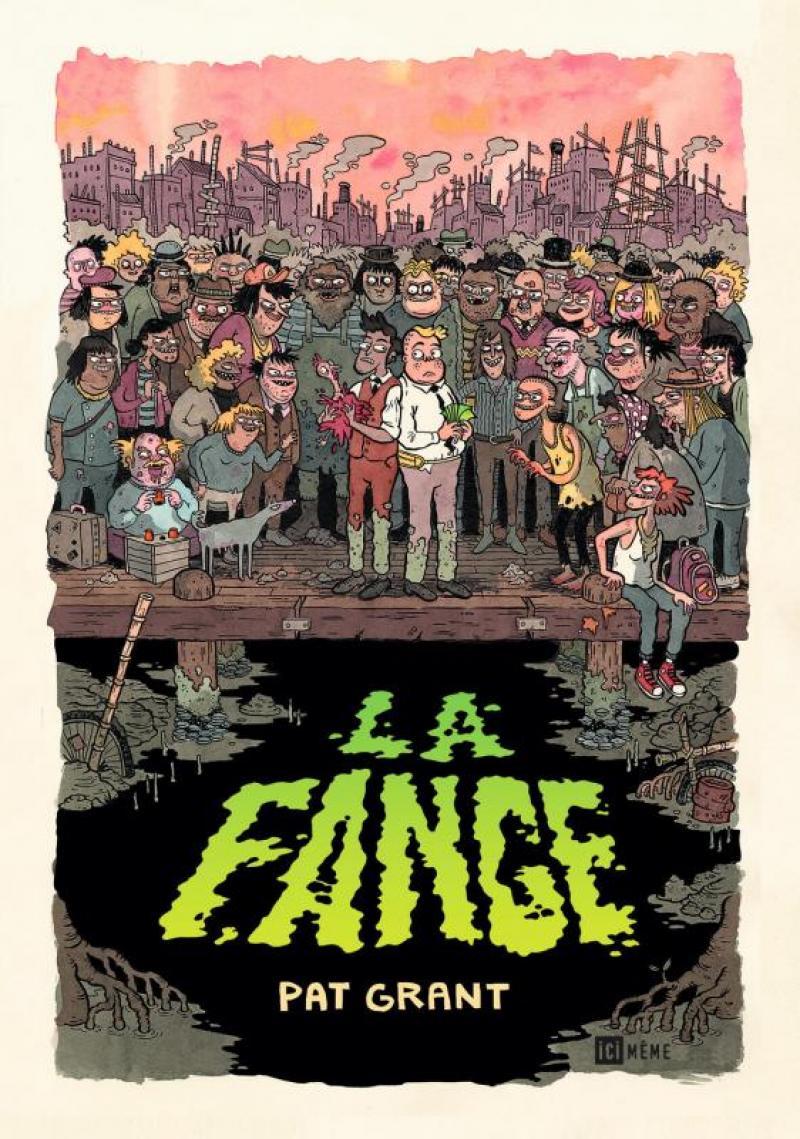 la fange pat grant australie bd bande dessinée roman graphique dystopie western